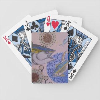 Gelbflossen-Thunfisch Bicycle Spielkarten