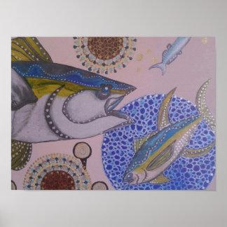 Gelbflossen-Thunfisch Poster