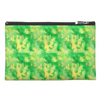 Gelbgrün-Aquarell-Reise-Zusatz-Tasche Reisekulturtasche