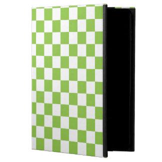 Gelbgrün-Schachbrett-Muster