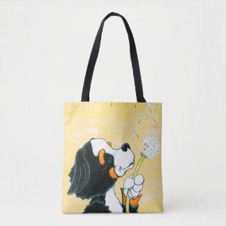 Gelbwünsche auf einer Brisen-Tasche Tasche