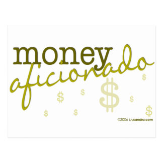 Geld-Anhänger Postkarte