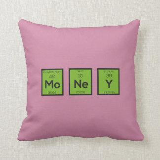 Geld-chemisches Element lustiges Z3z08 Kissen