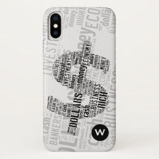 Geld geschriebene Geschäfts-Geschenke des iPhone X Hülle