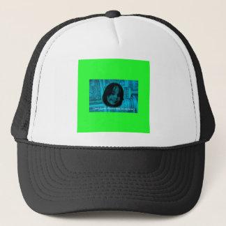 Geld-Gesicht des Bargeld-Liebhaber-(Plastik auch Truckerkappe