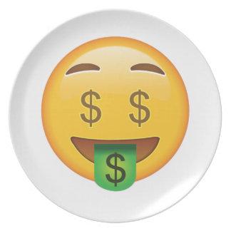Geld-Gesicht - Emoji Teller