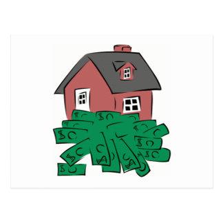 Geld-Gruben-Haus Postkarte