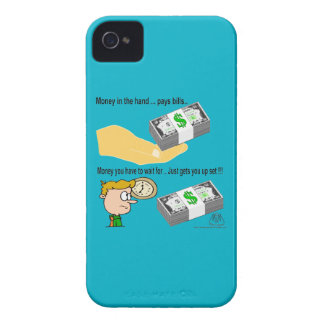 Geld in der Hand iPhone 4 Cover
