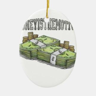 Geld ist die bewegende Sammlung Keramik Ornament