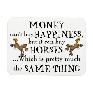 Geld macht nicht glücklich - der Magnet des