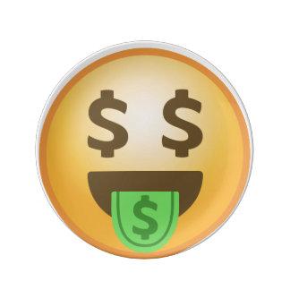 Geld-Mund Emoji Teller