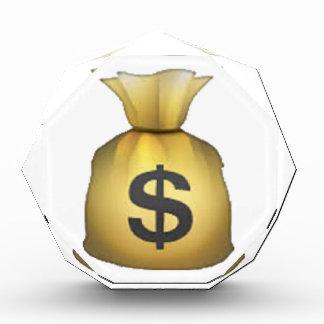 Geld-Tasche - Emoji Acryl Auszeichnung