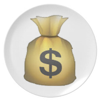 Geld-Tasche - Emoji Melaminteller