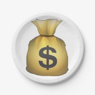 Geld-Tasche - Emoji Pappteller