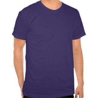 Geld-Taschen; Blau T-shirt