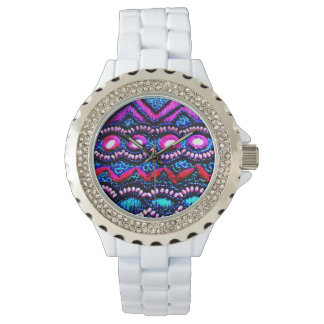 Geldbeutel-Stickerei von Indien Armbanduhr