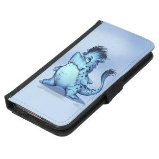 Geldbörsen-Kasten HAIFISCH-FISCH-CARTOON Samsung Galaxy S5 Geldbeutel Hülle