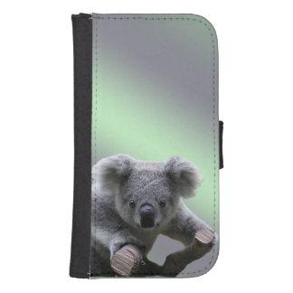Geldbörsen-Kasten Koala-Samsung-Galaxie-S4 Galaxy S4 Portmonee