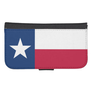Geldbörsen-Kasten Texas-Flaggen-Samsung-Galaxie-S4 Galaxy S4 Geldbeutel Hülle