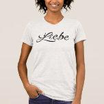 Geldstrafe-Jersey-T - Shirt Liebe Frauen