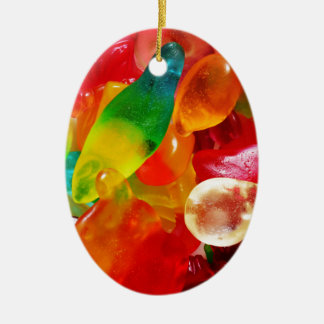 Geleegummi Keramik Ornament