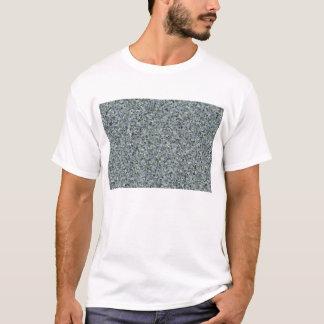 Gelegentliche abstrakte Dreiecke im Blau T-Shirt