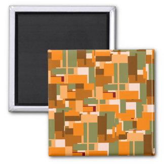 Gelegentliche Bild-Wahnvorstellung Quadratischer Magnet