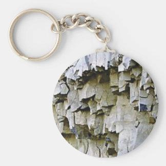 gelegentliche Felsenrüschen Schlüsselanhänger