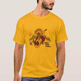 Gelegentliche Schlucht-Prüfspulen T-Shirt