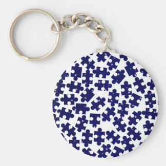 Gelegentliche zackige Stücke Schlüsselanhänger