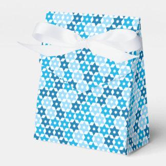 Gelegentlicher blauer Davidsstern Geschenkschachtel