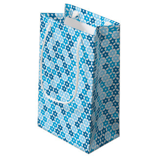 Gelegentlicher blauer Davidsstern Kleine Geschenktüte