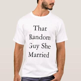 Gelegentlicher Typ T-Shirt