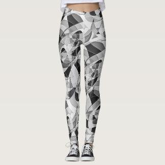 Gelegentliches abstraktes leggings