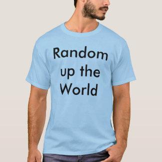 Gelegentliches hohes das WeltShirt T-Shirt