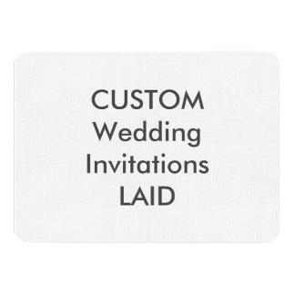 """GELEGTES 100lb 6,25"""" x 4,5"""" Hochzeits-Einladungen Karte"""