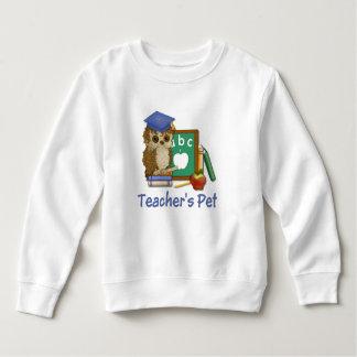Gelehrt-Eule - Lehrer-Haustier Sweatshirt