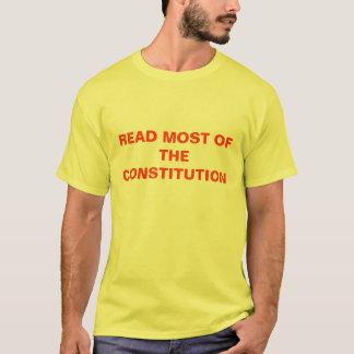 GELESEN DIE MEISTEN DER KONSTITUTION T-Shirt