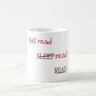 Gelesen gelesen gelesen kaffeetasse