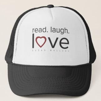 gelesen. Lachen. Liebe Truckerkappe