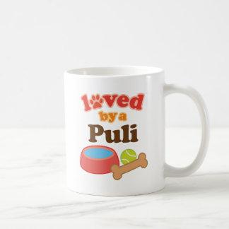 Geliebt durch ein Puli (Hundezucht) Kaffeetasse