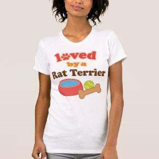 Geliebt durch eine Ratte Terrier (Hundezucht) T-Shirt