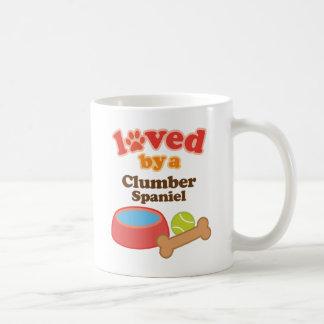Geliebt durch einen Clumber Spaniel (Hundezucht) Kaffeetasse