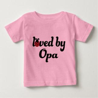 Geliebt durch Opa Geschenk Baby T-shirt