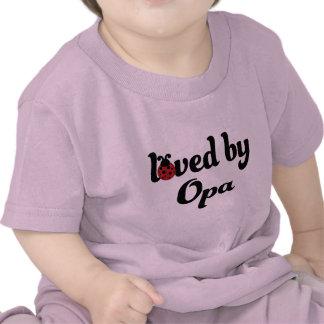 Geliebt durch Opa Geschenk Hemd