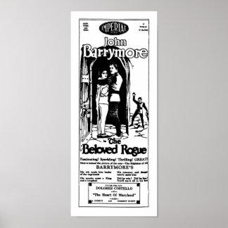 GELIEBTE KRANKE PFLANZEN ENTFERNTE Vintage Filmanz Poster