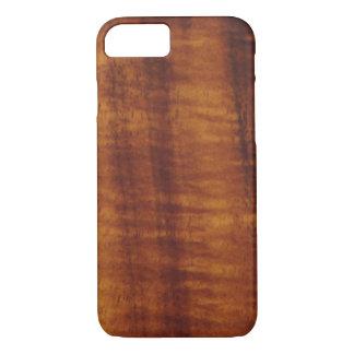Gelockte hawaiische Koa Holz-Art iPhone 8/7 Hülle
