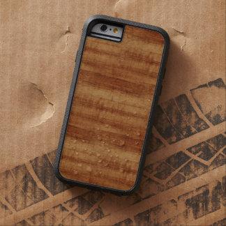 Gelockte Koa Akazien-hölzerner Korn-Blick Tough Xtreme iPhone 6 Hülle