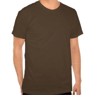 Gelockte überzogene Retriever-Silhouette T Shirt