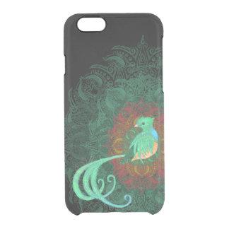 Gelocktes Quetzal Durchsichtige iPhone 6/6S Hülle